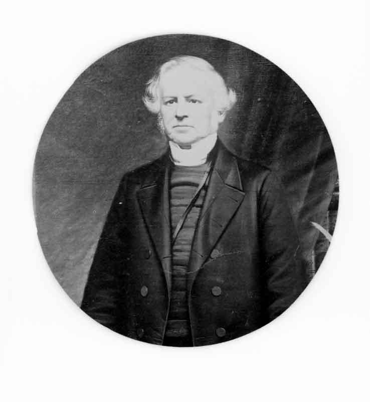 Portrait Reverend Thomas Hayne, Rastrick