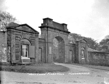 West Lodge, Fixby Hall, Fixby, Huddersfield