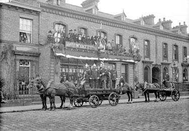 Charter Day, Victoria Mills Fire Brigade, Bradford Road, Brighouse