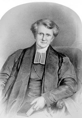 Drawing of Reverend Joseph Birch, MA, Vicar of Brighouse