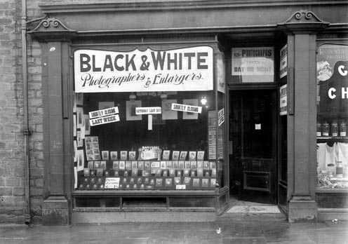 Photographer`s shop, Batley